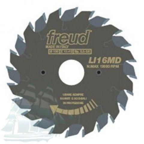 Пила подрезная «Freud» LI16M AB3 (120*2,8/3,6*22 Z=12+12)