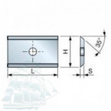 Твёрдосплавные пластины «FREUD» CG04M CA3 (15*12*1,5) Упаковка - 10шт.