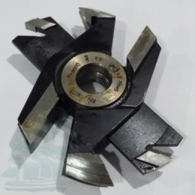 Комплект фрез «Крест» для дверной обвязки (200*32) с пазовой 12мм Z=2+2 (3 фрезы) Р6М5
