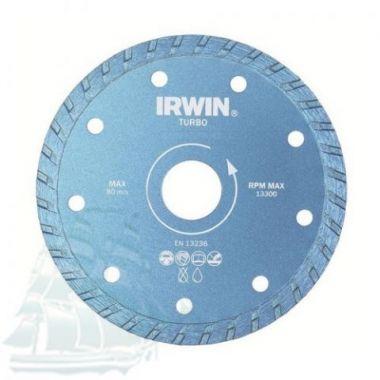 Алмазный диск IRWIN TURBO (180*22,2) 10505927