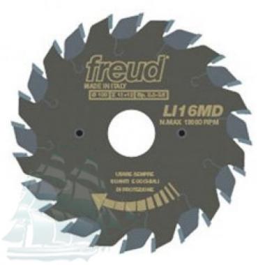 Пила подрезная «Freud» LI16M AА3 (120*2,8/3,6*20 Z=12+12)