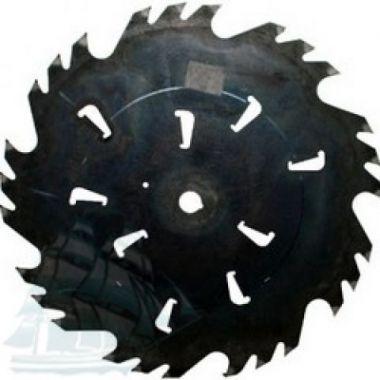 Пила дисковая «GASS» для бревнопильных станков (750*7,0/5,0*70 Z=24+6)