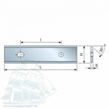Твёрдосплавные пластины «BESTE» для древесины (40*12*1,5) Упаковка - 10шт.