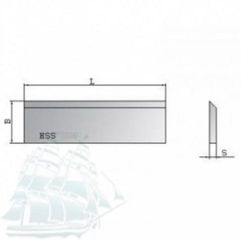 Нож строгальный Beste HSS (400*30*3)