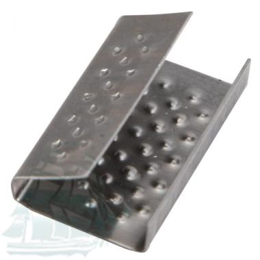 Скоба СП 16-32 для ПП-ленты (полипропиленовой) 15 мм Упаковка - 1500шт.