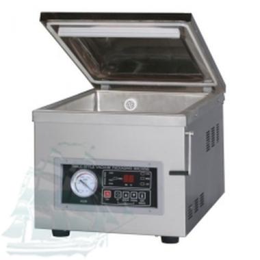 Однокамерная настольная вакуум-упаковочная машина DZ-260/PD (нержавейка)