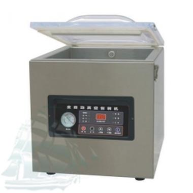 Однокамерная напольная вакуум-упаковочная машина DZ-500/T (нержавейка)