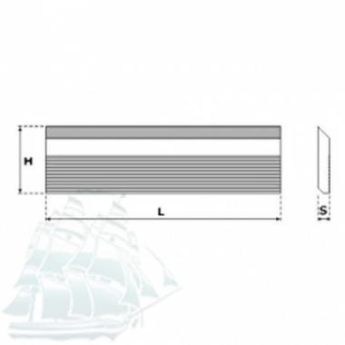 Бланкета для профилирования Ital Tools HSS 18%W (650*40*8)