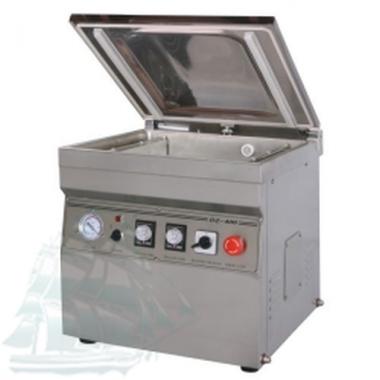 Однокамерная напольная вакуум-упаковочная машина DZ-400/2T (нержавейка)