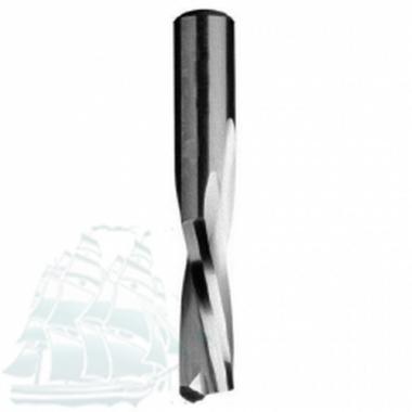 Концевая спиральная фреза Ital Tools D10 B42 L90 S10 Z=2 RH+ (40210211)
