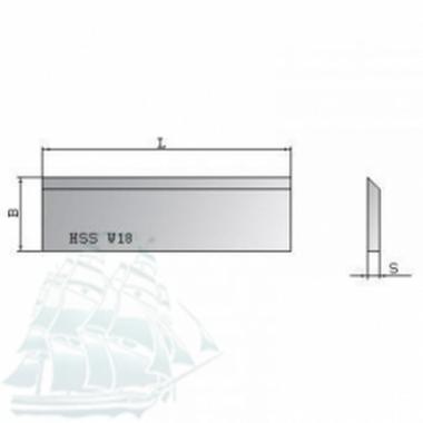Нож строгальный Ital Tools HSS 18%W (410*30*3)
