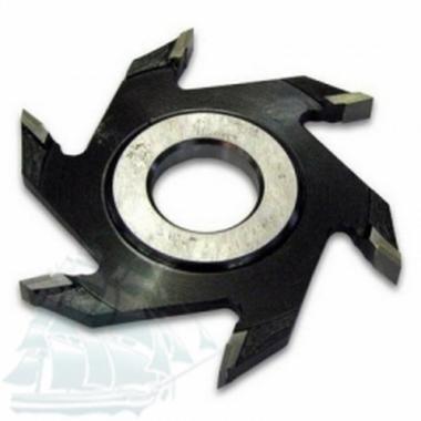 Фреза дисковая пазовая с твёрдосплавными напайками (125*32*5)