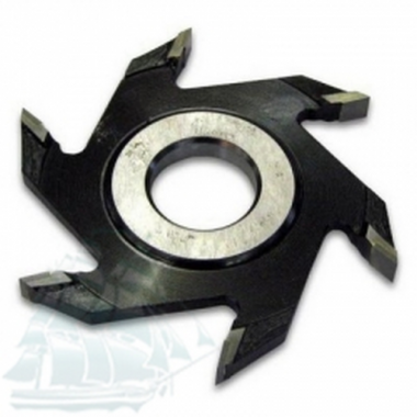 Фреза дисковая пазовая с твёрдосплавными напайками (125*32*14)