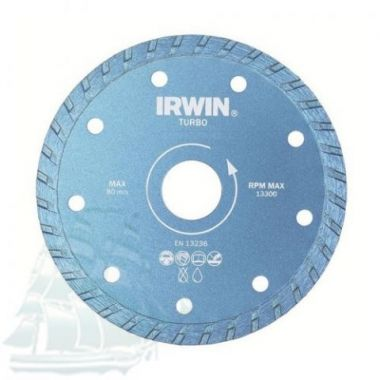Алмазный диск IRWIN TURBO (180*22,2) 10505927