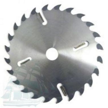 Пила дисковая «ИМПУЛЬС» для многопильных станков (550*5,2/3,8*50 Z=24+6)