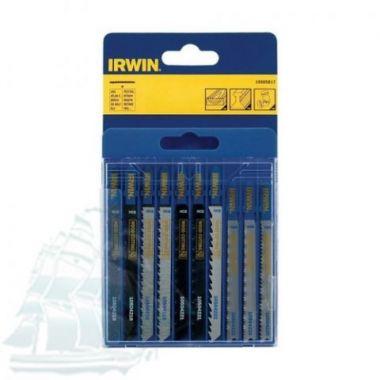 Набор пилок IRWIN с T-образным хвостовиком, 10 шт. 10505817