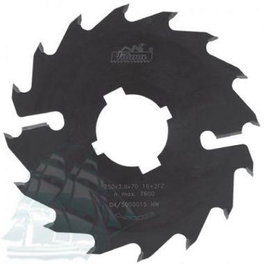 Пила дисковая «PILANA BLACK» для многопильных станков  (350*3,9/2,5*50 Z=18+4)