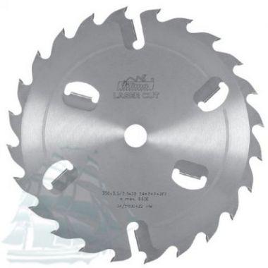 Пила дисковая «PILANA» для многопильных станков  (250*3,6/2,5*50 Z=16+2)